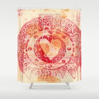 mac Shower Curtains featuring For Mac by Kim Codner Designs