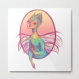 Tooth Fairy Metal Print