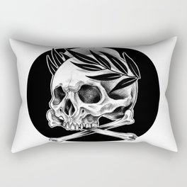 Crossbones Rectangular Pillow