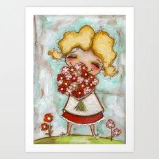 Smells like Spring - by Diane Duda Art Print