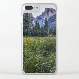 Light setting on Half Dome v Clear iPhone Case
