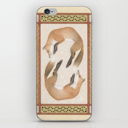 Fox Dance iPhone Skin