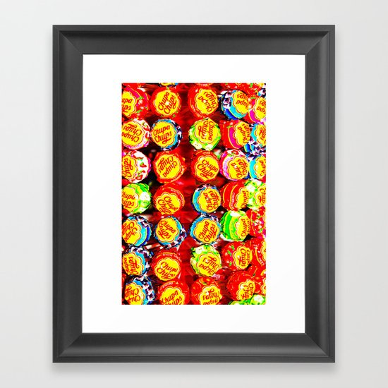 LOLLIPOP - For IPhone - Framed Art Print