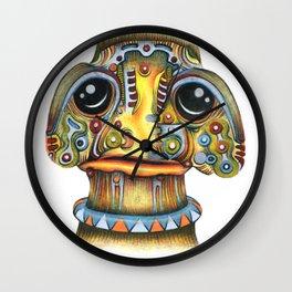 The Forlorn Alien Wall Clock