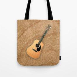 Wonderful Martin Acoustic Guitar  Tote Bag