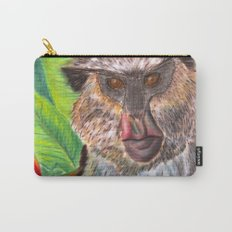Mona Monkey Carry-All Pouch