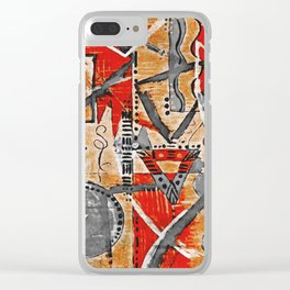 African Art 1 Clear iPhone Case