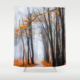 To Travel The Path Unknown Shower Curtain