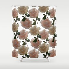 Covering you with roses Shower Curtain