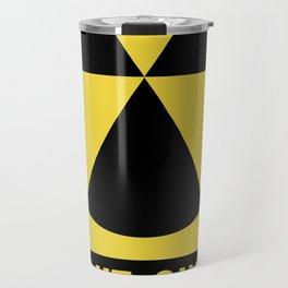 Fallout Shelter Sign Travel Mug