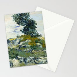 The Rocks by Vincent van Gogh Stationery Cards