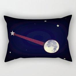 Moon Banjo Rectangular Pillow