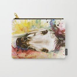 """""""Into the mirror"""" n°2 The horse Carry-All Pouch"""