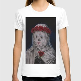 Day Of The Dead Veiled Bride T-shirt