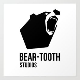 Bear-Tooth Logo Art Print
