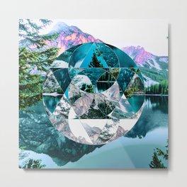 Misplaced Circle Metal Print