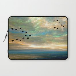 Sunset in the Refuge Laptop Sleeve