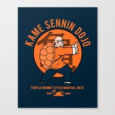 Kame Dojo Canvas Print