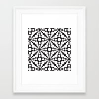 dot Framed Art Prints featuring DOT by Vadeco
