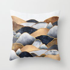 Hills 2 Throw Pillow