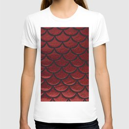 Scarlet Sable Scales T-shirt