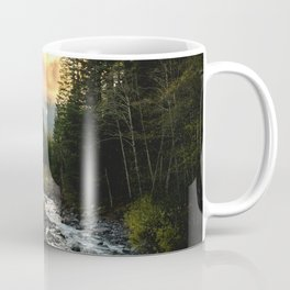 The Sandy River I - nature photography Coffee Mug
