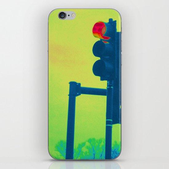 Stop Light iPhone & iPod Skin