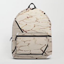 Earth hexagon abstract - Earth sign - The Five Elements Backpack