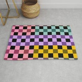Colorful Checker 03 Rug