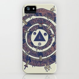 The Cycle iPhone Case