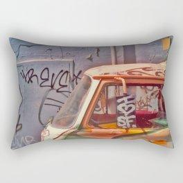 I heart SF Van Rectangular Pillow