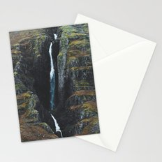Cracks in the Earth Stationery Cards