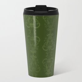 Carnivorous Damask (Lime) Travel Mug
