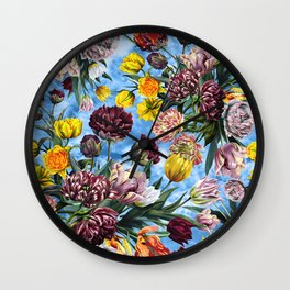 Sky Garden Wall Clock