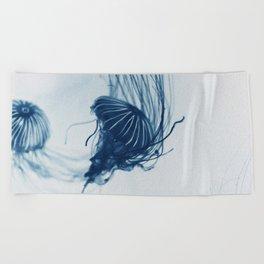 Deep Blue Sea #3 Beach Towel