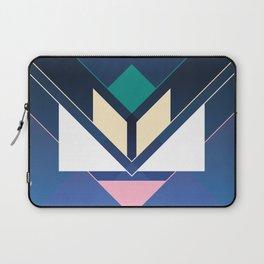 Tangram Lotus Two Laptop Sleeve