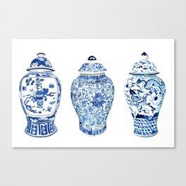 GINGER JAR TRIO Canvas Print