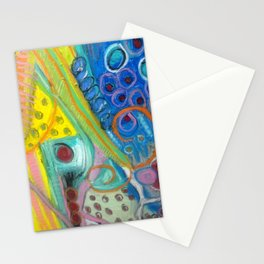Abstract Boogie Woogie Stationery Cards