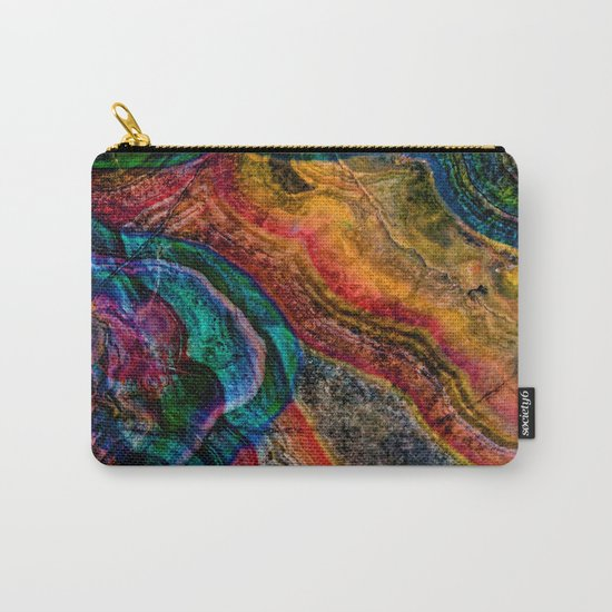 crystal marble Carry-All Pouch