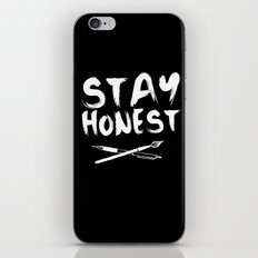 Stay Honest iPhone & iPod Skin