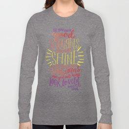 You Will Always Look Lovely [Roald Dahl] Long Sleeve T-shirt