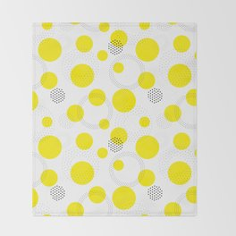 Dotted pattern Throw Blanket
