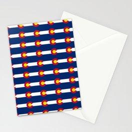 colorado pattern Stationery Cards