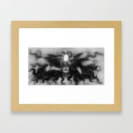 The Seer of the Universe Framed Art Print