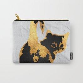 Golden Cat Carry-All Pouch