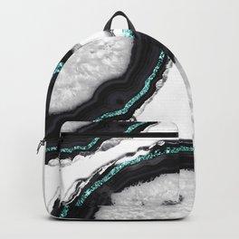 Agate Glitter Glam #16 #gem #decor #art #society6 Backpack