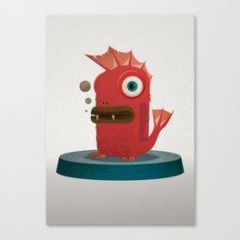 FishStix Monster Canvas Print