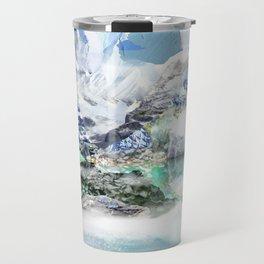 French Alp scene Travel Mug