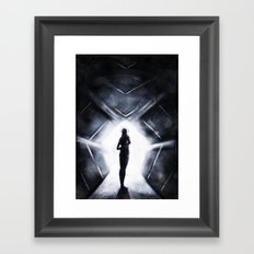 Into The Light  Framed Art Print