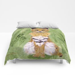 Serval Cat Comforters